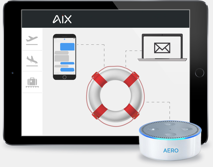 aix alexa ipad incident alert notifications for airport personnel 1 - AiX Metrics - Precise Forecasting for Airports